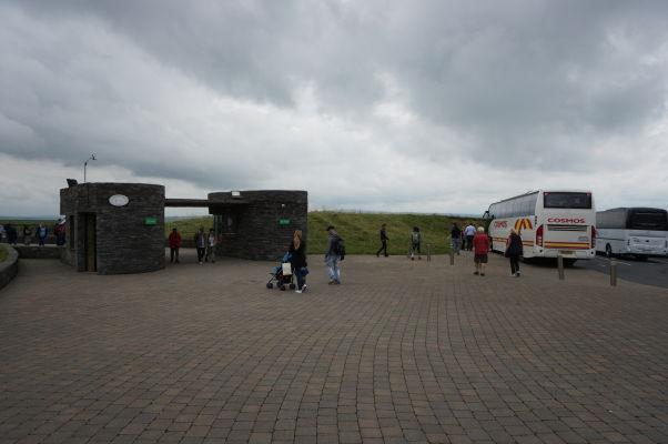 Vchod do areálu návštevníckeho centra pri Moherských útesoch v Írsku