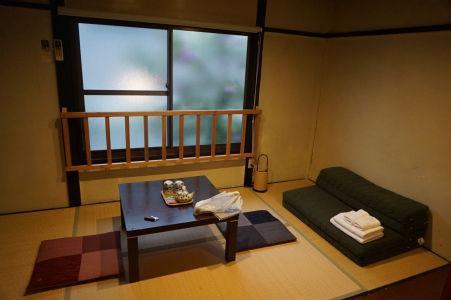 Tradičné japonské ubytovanie - ryokan