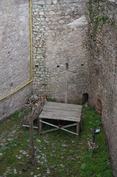 Popravisko na Korvínovom hrade v Hunedoare