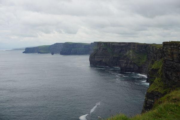 Moherské útesy (Cliffs of Moher) na západnom pobreží Írska