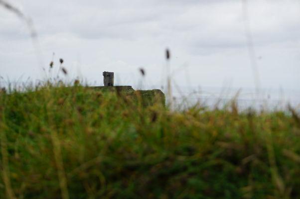 Moherská veža (Moher Tower) na Moherských útesoch (Cliffs of Moher) na západnom pobreží Írska