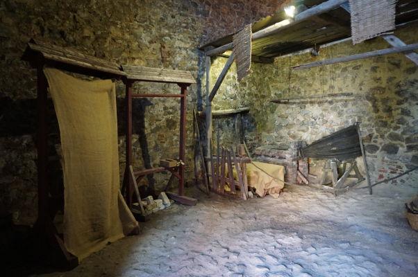 Kováčska dielňa na Korvínovom hrade v Hunedoare