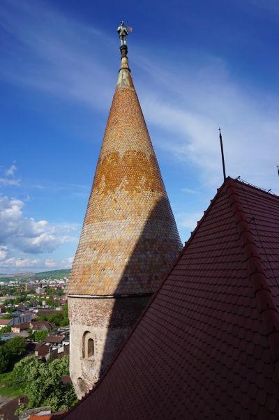 Veža Buzdugan Korvínovho hradu v Hunedoare