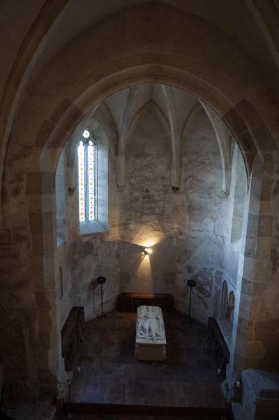 Kaplnka na Korvínovom hrade v Hunedoare