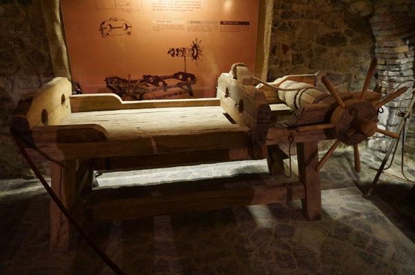 Mučiareň na Korvínovom hrade v Hunedoare
