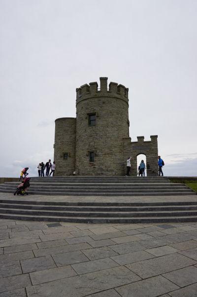 O'Brienova veža na Moherských útesoch (Cliffs of Moher) na západnom pobreží Írska
