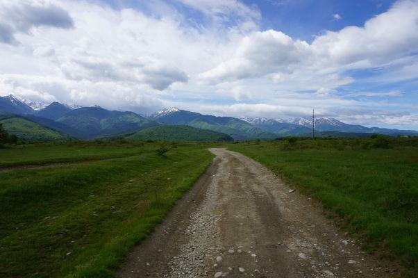 Hory Transylvánie (rumunských Karpát) v okolí Transfagarašanu - ide o najvyššie hory Rumunska