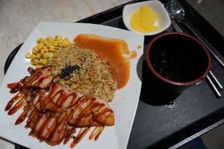 Jednoduché jedlo - kuracie mäso s ryžou, doplnené o (neodmysliteľnú) polievku