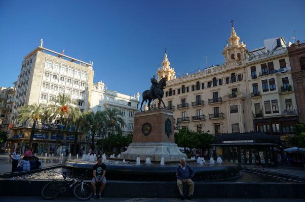 Námestie Plaza de las Tendillas v Córdobe