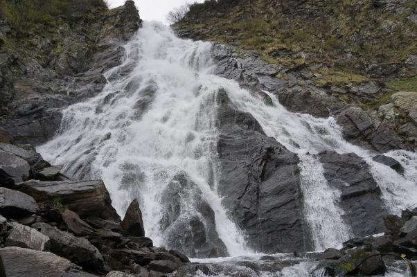 Vodopád Balea neďaleko Transfagarašanu