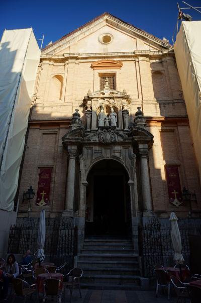 Chrám sv. Anny (Iglesia de Santa Ana) v Córdobe - Barokový chrám zo 17. storočia, kedysi súčasť kláštora