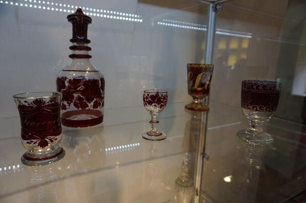 Sekcia venovaná remeslám v múzeu v pevnosti vo Fagaraši