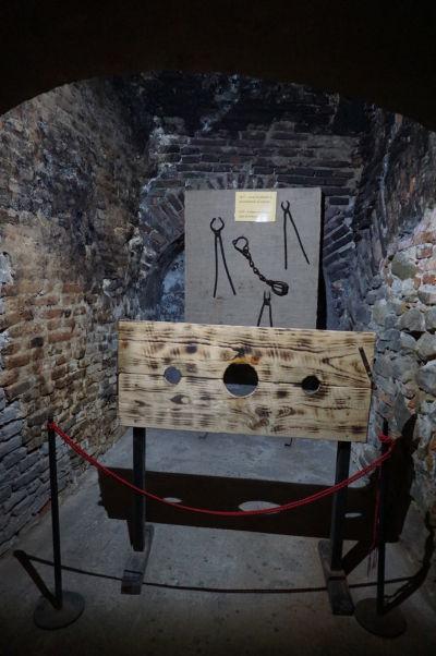 Rekonštrukcia mučiarenskej miestnosti v pevnosti vo Fagaraši