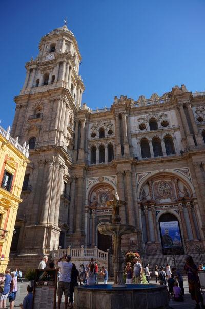 Katedrála v Málage