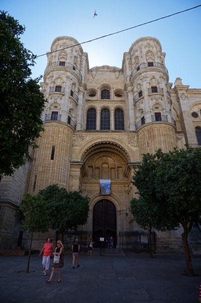 Katedrála v Málage - Vstupný portál