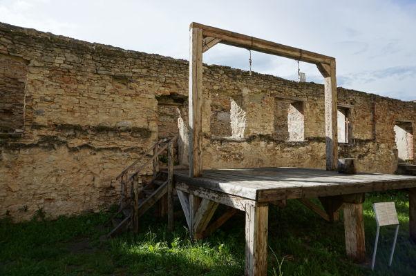 Popravisko v pevnosti vo Fagaraši