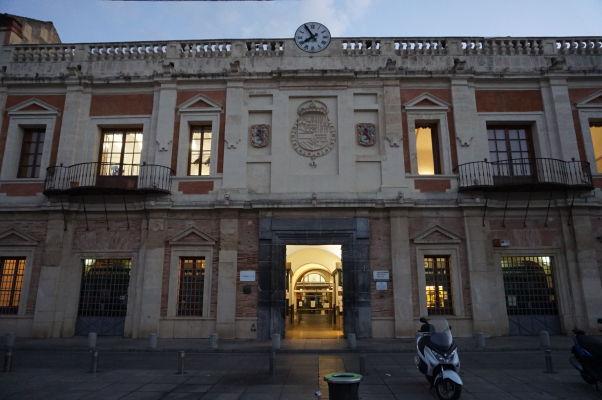 Občianske centrum (Centro Cívico) na námestí Plaza de la Corredera v Córdobe