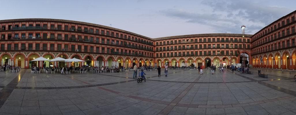 Veľké námestie Plaza de la Corredera v Córdobe