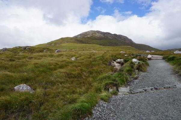 Diamantová hora (Diamond Hill) v národnom parku Connemara National Park v Írsku