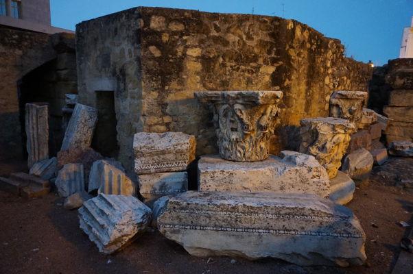 Ruiny rímskeho chrámu v Córdobe