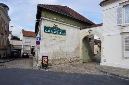 Jeden z domov výrobcov šampanského v Reims