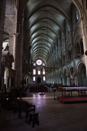 Bazilika sv. Remigia v Reims - Hlavná loď