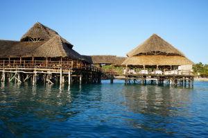 Severné pobrežie Zanzibaru lemujú luxusné plážové rezorty