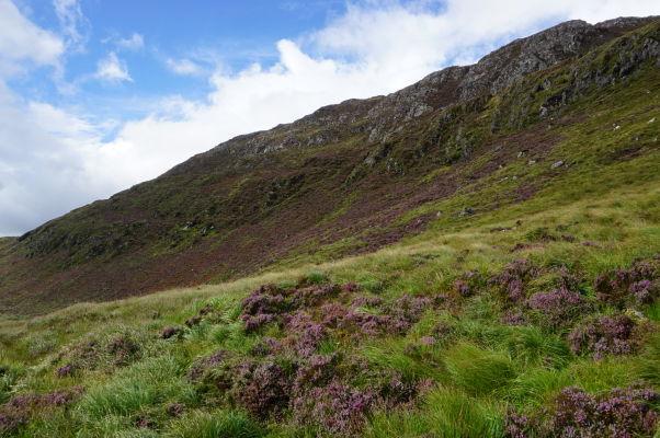 Pohľad z juhu na Diamantovú horu (Diamond Hill) v národnom parku Connemara National Park v Írsku