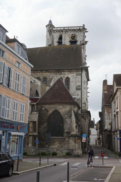 Kostol sv. Magdalény (Église Sainte-Madeleine) v Troyes