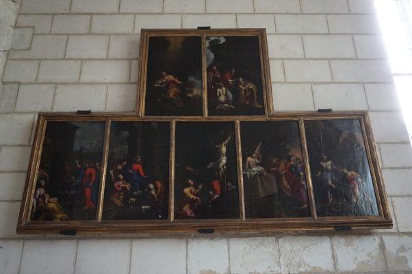 Kostol sv. Magdalény (Église Sainte-Madeleine) v Troyes - Obrazy Jeana Picota