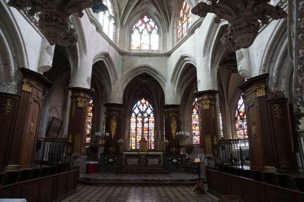 Kostol sv. Magdalény (Église Sainte-Madeleine) v Troyes - Presbytérium