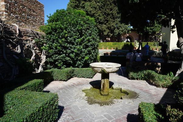 Vodné elementy boli dôležitou súčasťou maurských stavieb v pevnosti Alcazaba v Málage