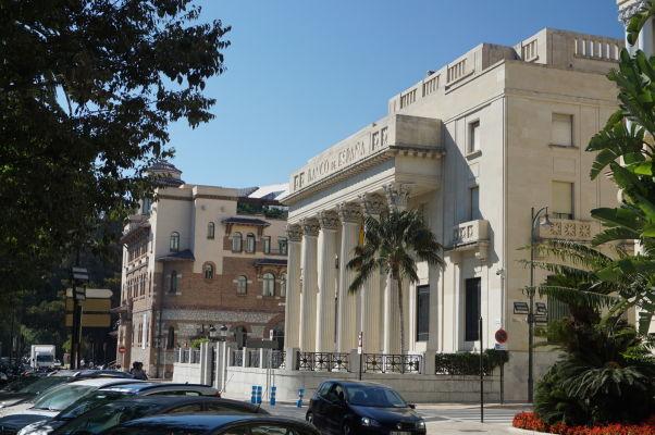 Budova Španielskej banky (Banco de España) v Málage