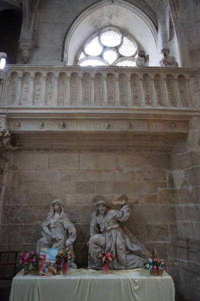 Sochy v kostole sv. Panteléona (Église Saint-Pantaléon) v Troyes