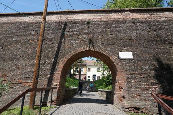 Brána do Horného mesta Sibiu v juhovýchodnej hradbe