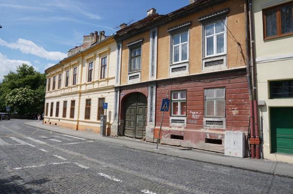 Uličky Horného mesta v Sibiu