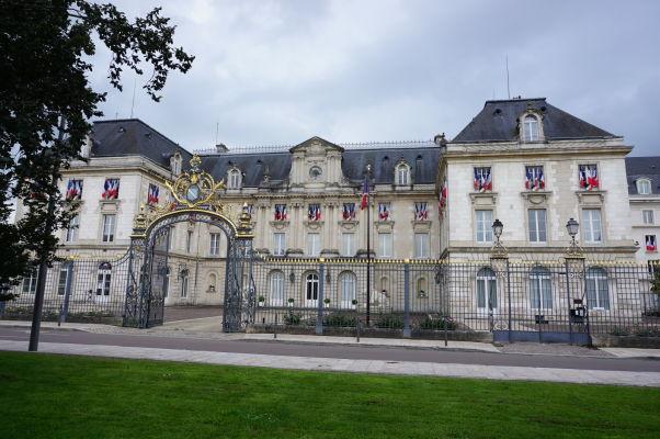 Prefektúra (krajský úrad) departmentu Aube v Troyes
