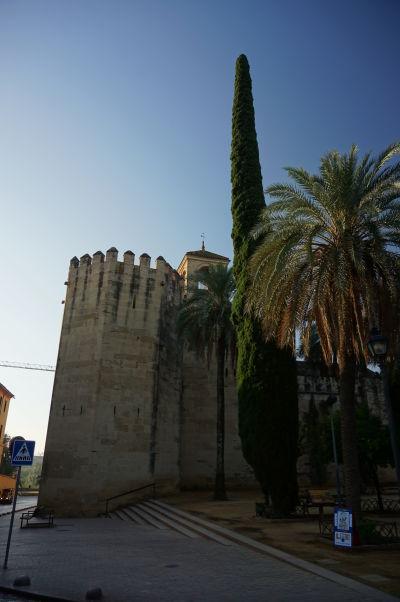 Veža pocty (Torre del Homenaje) v kráľovskom paláci Alcázar v Córdobe - tu Krištof Kolumbus pripravoval svoju cestu do Indie