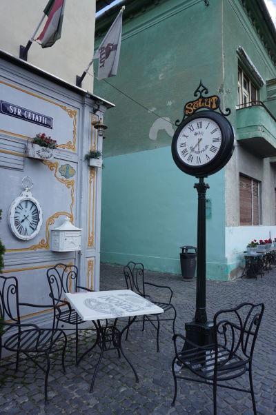 Uličky a farebné domčeky Horného mesta v Sibiu