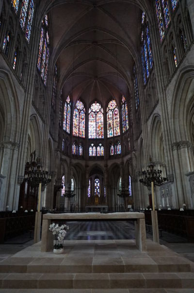 Presbytérium Katedrály sv. Petra a Pavla v Troyes