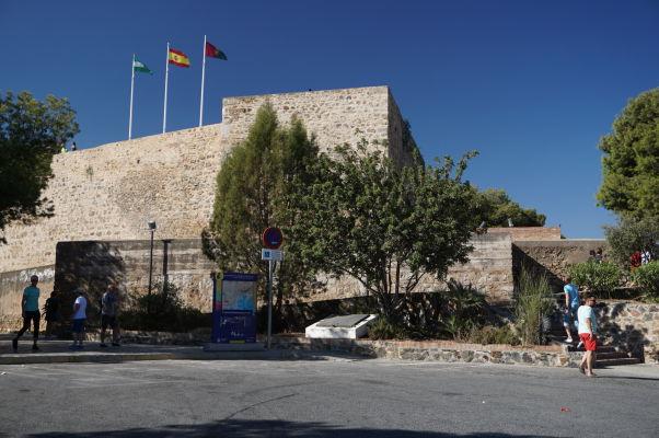 Hrad Gibralfaro v Málage