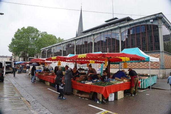 Mestská tržnica (Marché Des Halles) v Troyes