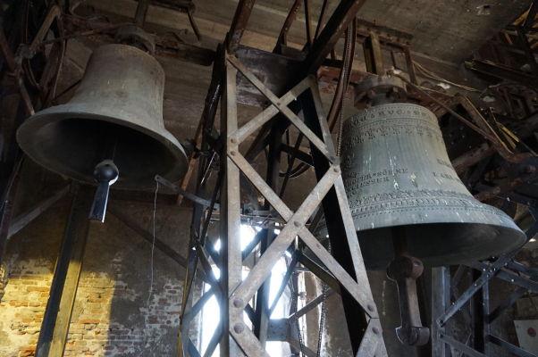 Zvony vo veži Evanjelickej katedrály sv. Márie