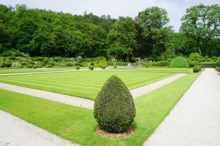 Záhrada za kláštorom