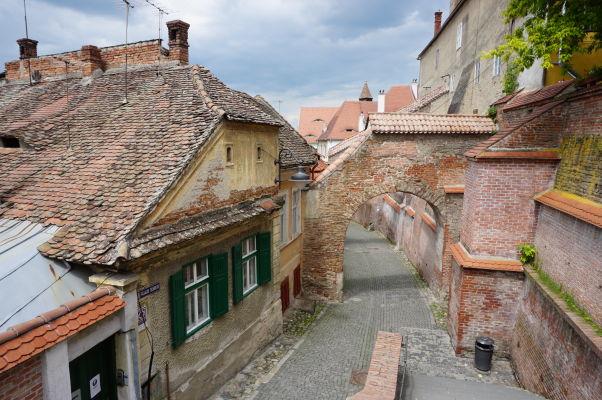 """""""Schodisková pasáž"""" v Sibiu"""