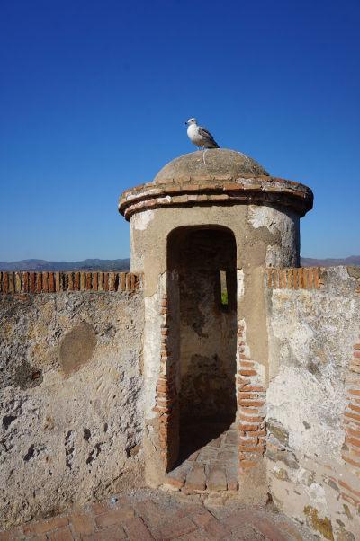 Hradby pevnosti Gibralfaro v Málage