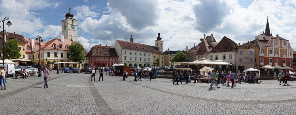 Malé námestie v Sibiu