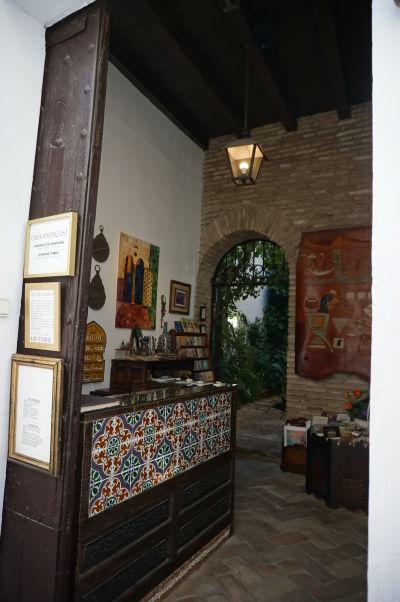 La Casa Andalusí v Córdobe - minimúzeum, kde sa môžete pozrieť, ako vyzerá typický dom v Andalúzii