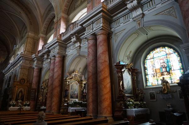 Kostol sv. Trojice v Sibiu - jezuitský chrám z 18. storočia
