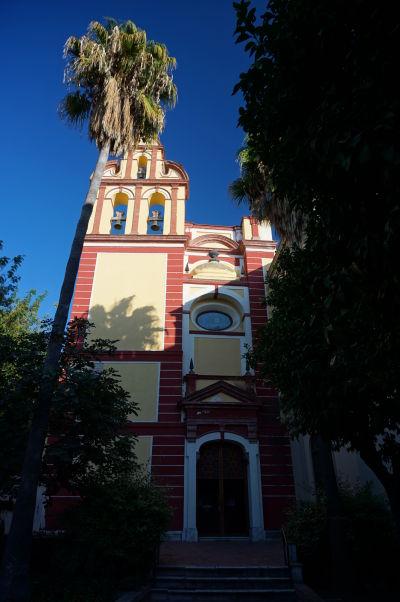Chrám sv. Augustína (Iglesia de San Agustín) v Málage